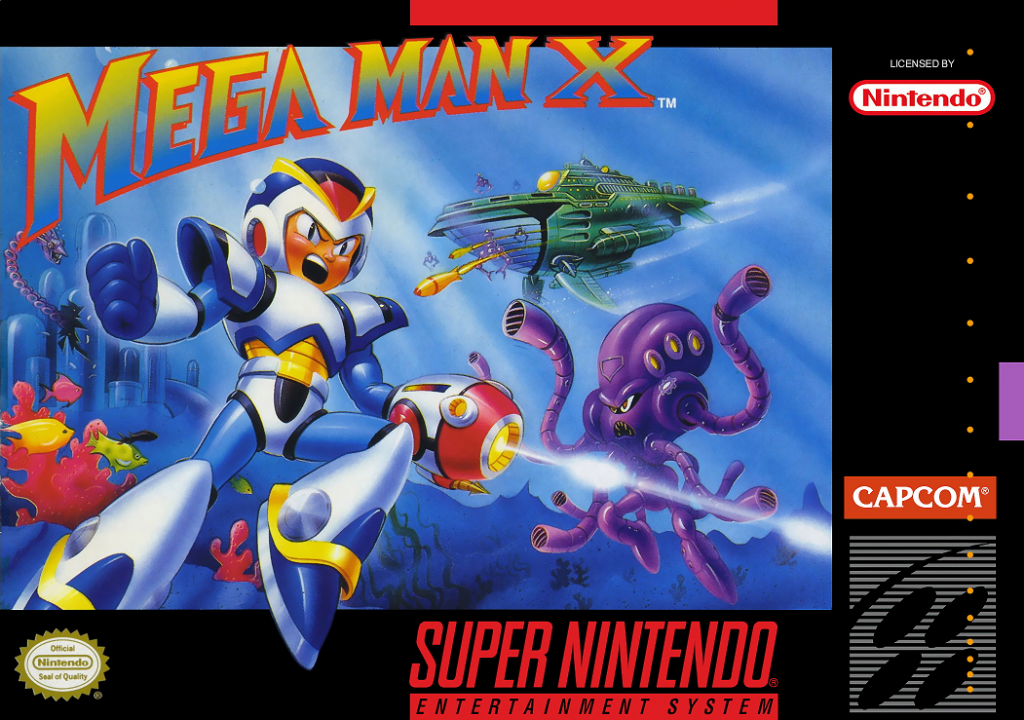 Megaman X Front Cover