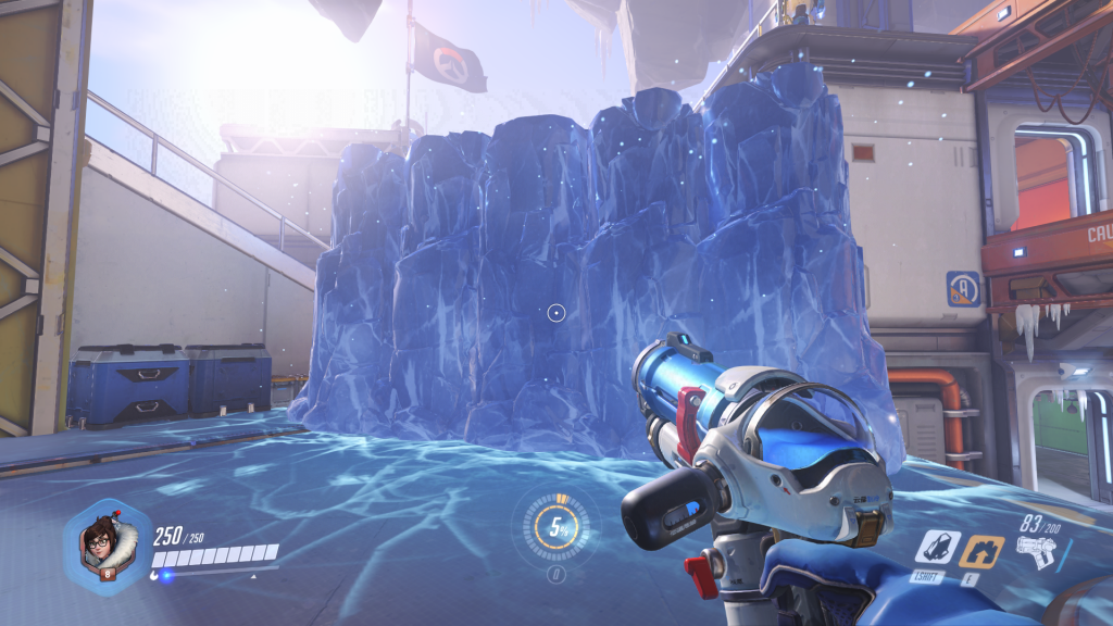 Mei's Ice Wall - A Barrier Ability