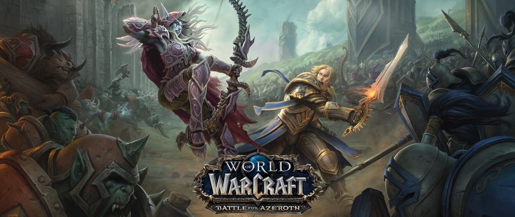 World of Warcraft Battle for Azeroth Anduin vs Sylvanas
